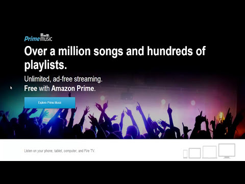 AMAZON Free Music | Watch Me Create Playlists To Play On Phone