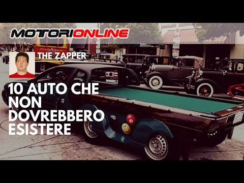10 AUTO che non DOVREBBERO ESISTERE | The Zapper