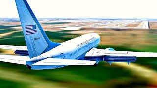 Infinite Flight Global Boeing 737 BBJ Moscow - Washington ( 10 h 50 min) , Expert Server