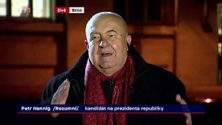 Petr Hannig: referendum, euro... (Prezidentské volby 2018)