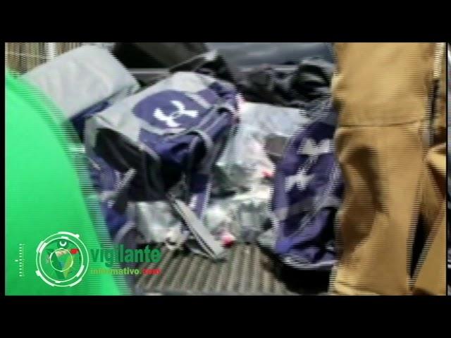Los 226 paquetes de cocaína que la DNCD no dejó llegar a Holanda