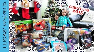 Perfect Toys from Santa for Christmas 2015   BB-8 STAR WARS LEGO WALL-E Interactive ELMO NERF game