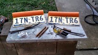 DIY License Plate Planer Boards for Trolling / EASY & CHEAP