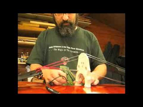 Attaching The Realist Transducer To A Double Bass