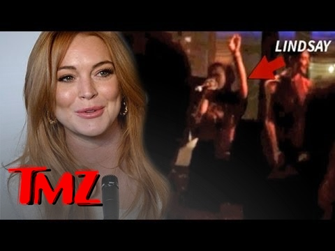 Lindsay Lohan On the Edge of Incredible -- She CRUSHES Stevie Nicks Live | TMZ