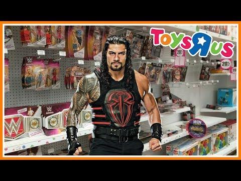 TOY HUNT!!! | SURPRISED BY ROMAN REIGNS!!! | WWE Mattel Wrestling Figure Shopping Fun #80