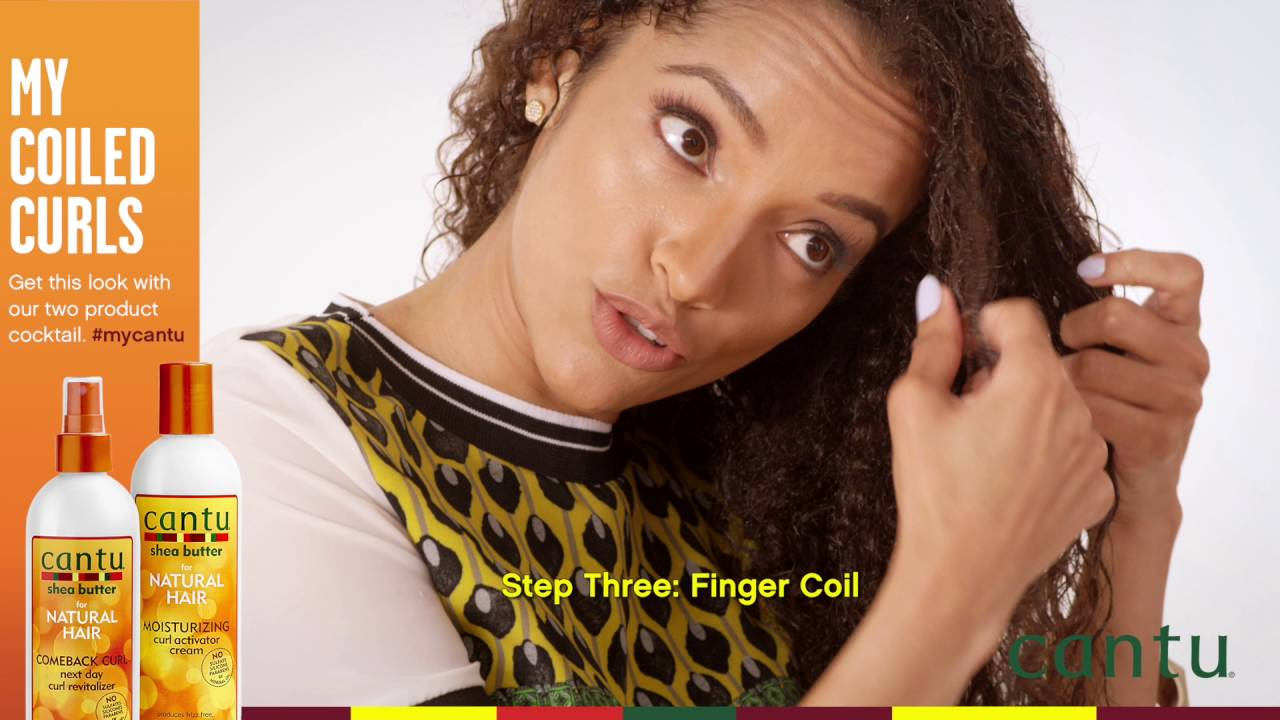 Coiled Curls Made Easy My Curl Cantu Beauty