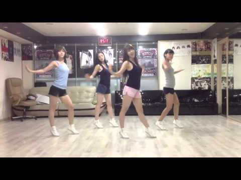 coreografia  She'z   UU   Mirrored Dance Rehearsal 720p)