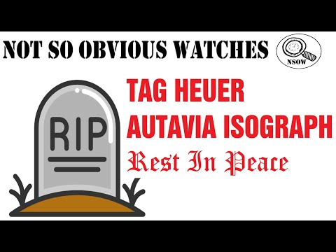 TAG HEUER Autavia Isograph - Rest In Peace