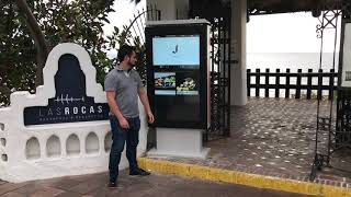 New Outdoor touch kiosk totem from Hoteligy