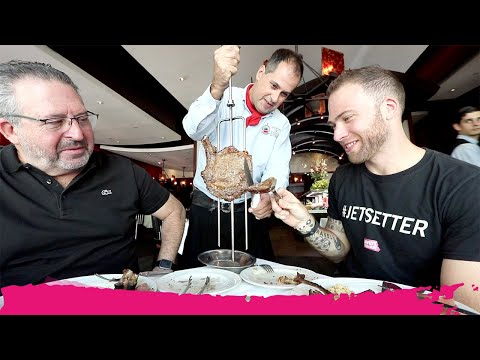 ALL YOU CAN EAT Brazilian STEAK On South Beach | Miami Beach, Florida