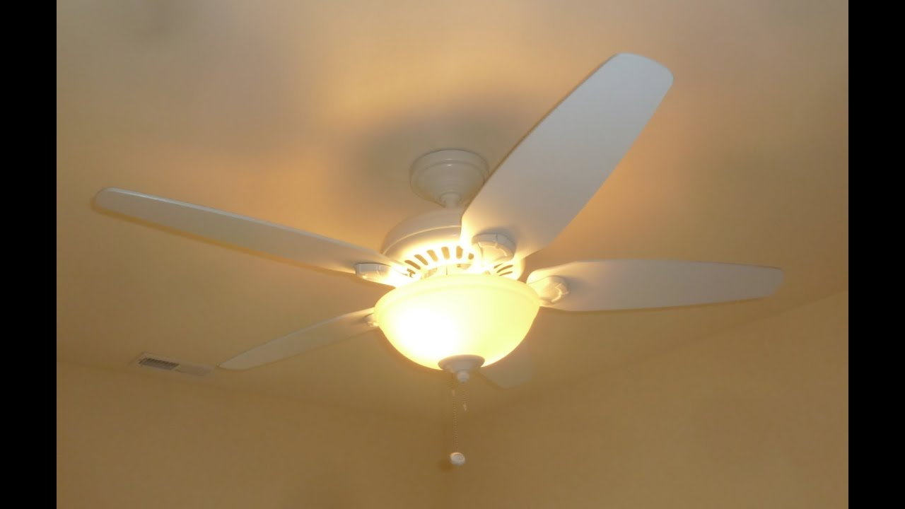 52 hunter stratford five minute fan ceiling fan youtube aloadofball Image collections