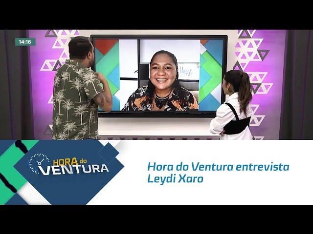 No Dia da Empregada Doméstica, Hora do Ventura entrevista Leydi Xaro