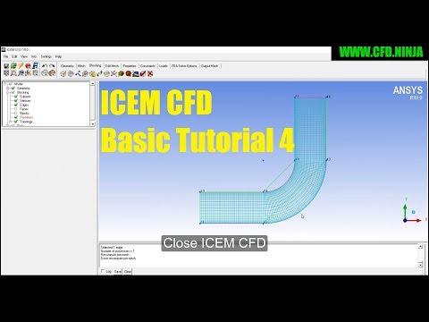 ANSYS ICEM CFD - Meshing 2D Pipe - CFD NINJA
