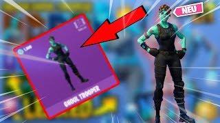 * NEU * Frozen Ghoul Trooper & Skull Trooper LEAKED mit allen Fortnite-Tänzen !