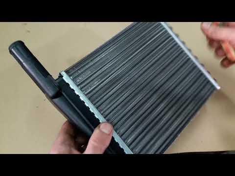 Замена радиатора печки на Лада Калина без снятия панели.