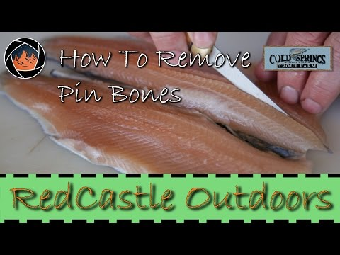 A Detailed Look At How To Fillet A Trout And Remove The Pin Bones