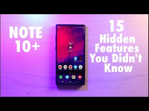 Galaxy Note 10 Plus : 15 Hidden Features You Didn't Know
