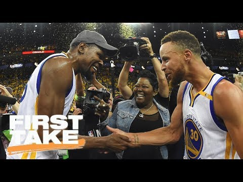 Kevin Durant Or Steph Curry: Who's The Key To Warriors' Success? | First Take | ESPN