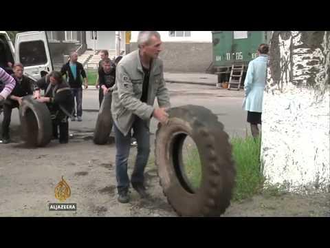 Ukraine helicopters shot down in Slovyansk