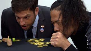 WWE Superstars play dreidel for Hanukkah