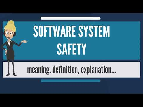What is SOFTWARE SYSTEM SAFETY? What does SOFTWARE SYSTEM SAFETY mean?