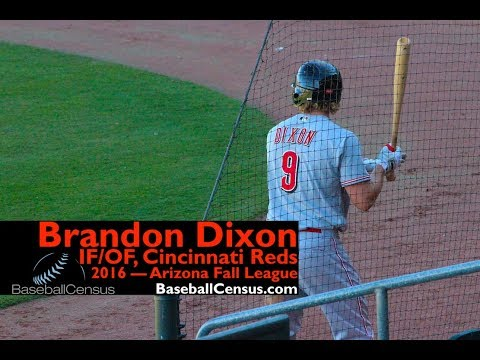 Brandon Dixon, IF/OF, Cincinnati Reds — Arizona Fall League, 2016
