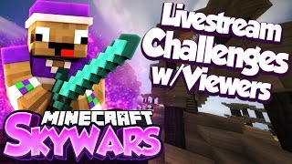 Hypixel Skywars Challenges!! Come & Join Us!! (MC.Hypixel.Net)