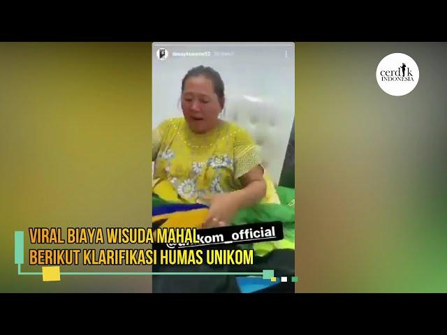 Viral Biaya Wisuda Mahal, Berikut Klarifikasi Humas Unikom #UNIKOM #WISUDA