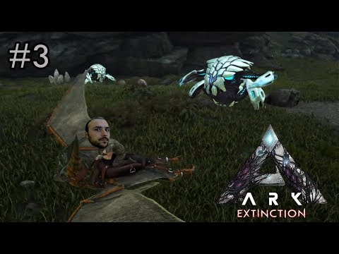 Büyük Yolculuk Ve Yeni Yaratıklar - Ark Extinction # 3