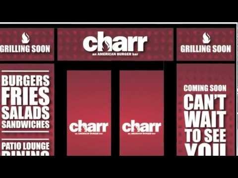 Charr An AMERICAN BURGER Bar Opening Soon Trailer