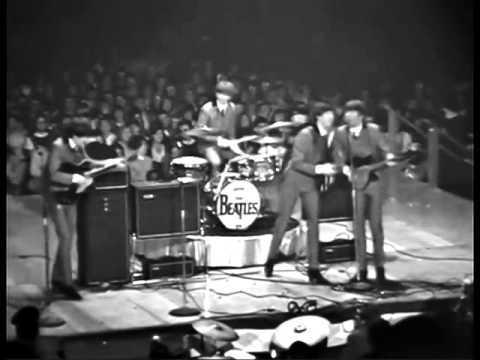 Their first American concert 02_11_1964  Washington Coliseum