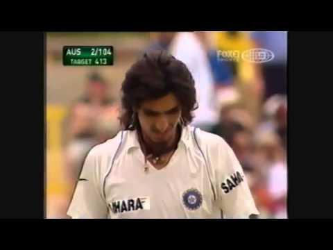 Ishant Sharma makes ponting crying
