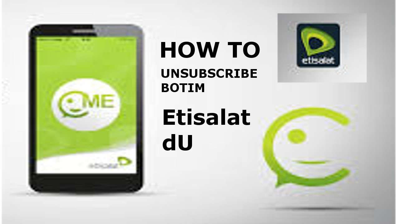 HOW TO UNSUBSCRIBE BOTIM SERVICE IN dUBAI ? - YouTube