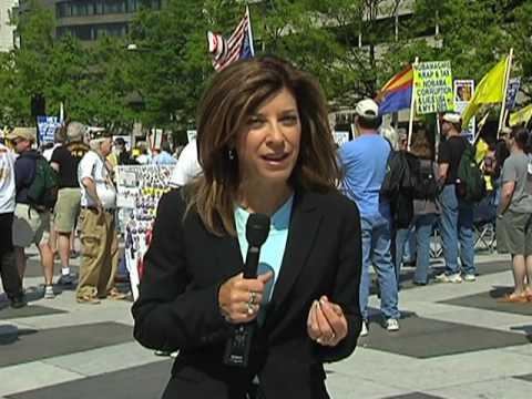 US Tea Party Movement Rallies in Washington