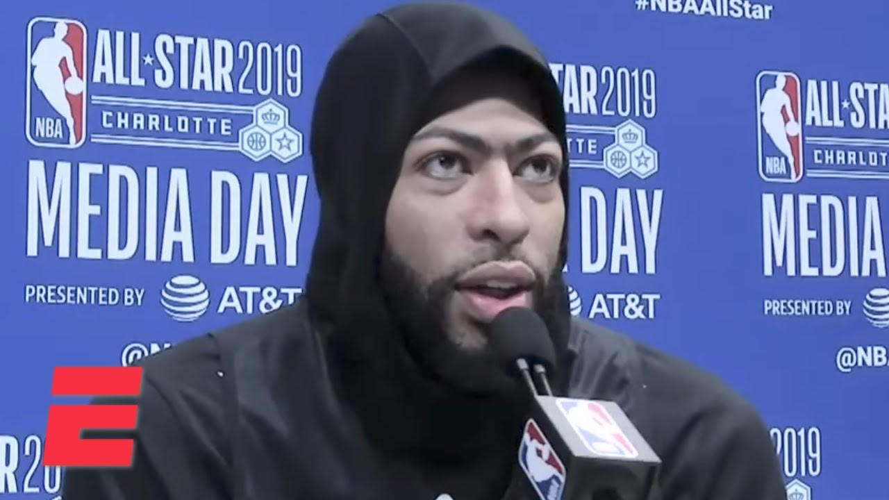 I never said Celtics weren't on my list  - Anthony Davis | NBA All-Star 2019