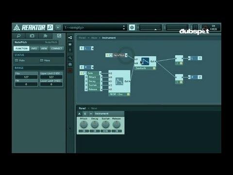 Sound Design Tutorial: Using Native Instruments' Reaktor To Build Virtual Instruments