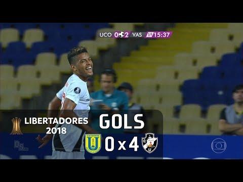 Gols - Universidad de Concepción (CHI) 0 x 4 Vasco - Libertadores 2018