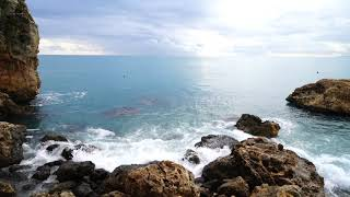 Lord, You Have My Heart - Piano instrumental with calming sea waves
