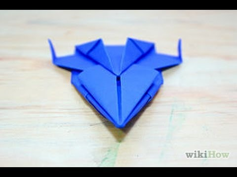 How To Make Origami Spaceship