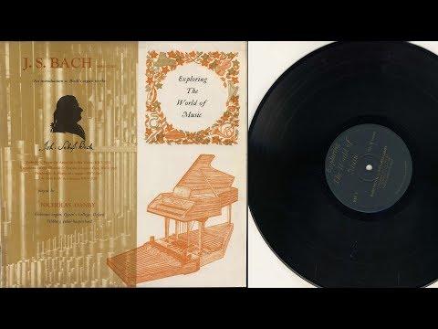 Nicholas Danby (pedal harpsichord) J.S. Bach Passacaglia BWV 582 Trio sonata BWV 528
