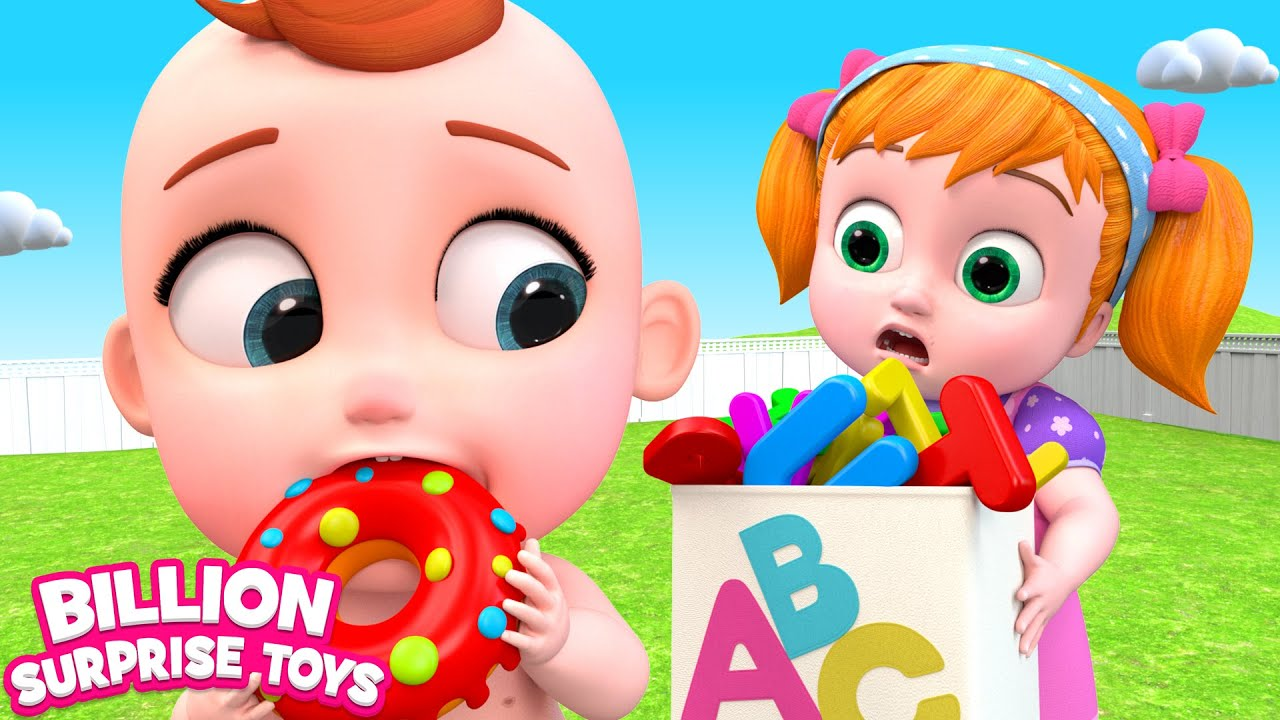 تعال ودعنا نتعلم الحروف الهجائية مع دوللي والطفل
