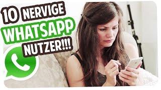 10 Arten von nervigen Whatsapp-Usern!
