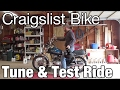 Craigslist Honda Twinstar - Carb Tune and Test-ride.