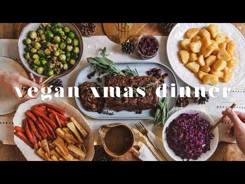 HOW TO MAKE THE ULTIMATE VEGAN XMAS DINNER