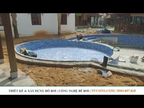 Thiết kế xây dựng bể bơi chuyên nghiệp | Thi công hồ bơi tại Phú Quốc | Thiết bị công nghệ bể bơi