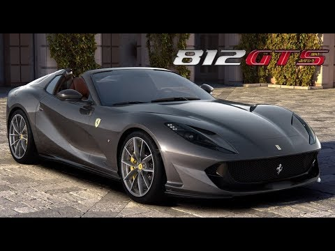 Ferrari 812 Gts 2020 V12 Spider Youtube