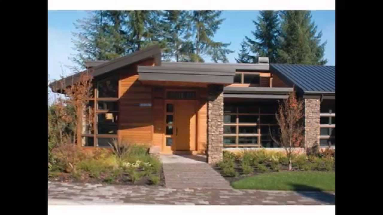 Modern small house plans small house plans modern youtube Contemporary small homes