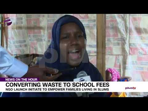 MUST WATCH: See How Nigerians are Converting Waste to School Fees
