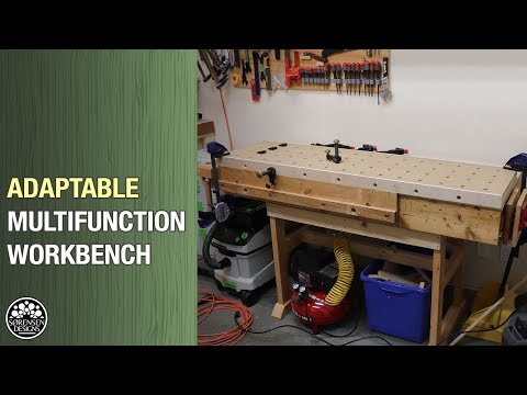 New Multifunction Workbench // DIY MFT For Any Wood Shop